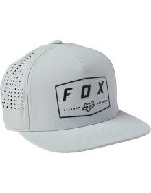 Fox Racing Badge Snapback Cap Gray