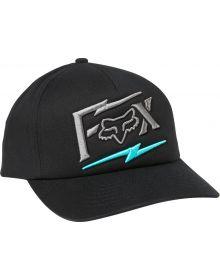 Fox Racing Pushin Dirt Womens Trucker Cap Black