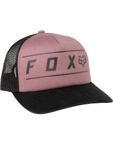 Fox Racing Pinnacle Womens Trucker Cap Purple Haze