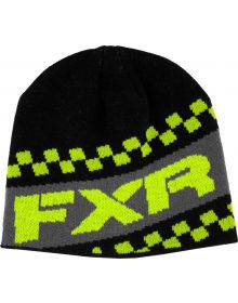 FXR Team Beanie Black/Hi-Vis