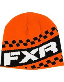 FXR Team Beanie Black/Orange