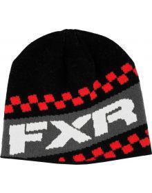 FXR Team Beanie Black/Red