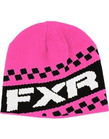 FXR Team Beanie Ele. Pink/Black