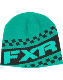 FXR Team Beanie Mint/Charcoal