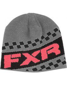 FXR Team Beanie Coral/Grey