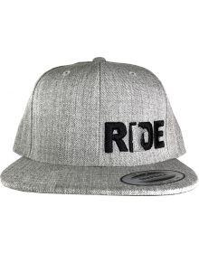 Ride Minnesota Sleek Snapback Cap Gray