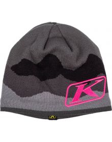 Klim Beanie Castlerock Gray/Knockout Pink