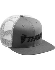 Thor Trucker Snapback Hat Gray/White