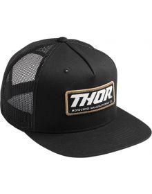 Thor Standard Trucker Hat Black