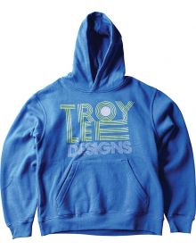 Troy Lee Designs Linear Youth Pull Over Sweatshirt Royal