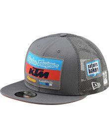 Troy Lee Designs KTM Team 2019 Snapback Cap Charcoal