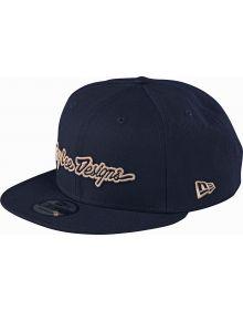 Troy Lee Designs Signature Snapback Hat Navy