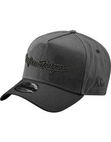 Troy Lee Designs Signature Snapback Hat Graphite