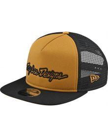 Troy Lee Designs Signature Snapback Hat Gold