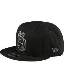 Troy Lee Designs Peace Sign Snapback Hat Black
