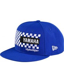 Troy Lee Designs Yamaha Checkers Snapback Cap Blue