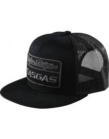 Troy Lee Designs Gas Gas Team Stock Snapback Cap Black
