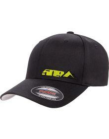 509 Tri-Peak Flex Fit Hat Black