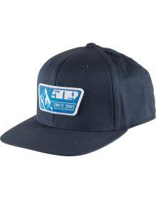 509 Blue Prints Flex Fit 110 Snapback Cap Blue