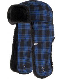 509 Trapper Fur Hat Blue