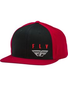 Fly Racing Kinetic Snapback Hat Red/Black