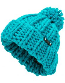 Fly Racing Cunky Pom Womens Beanie Teal