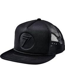 Seven Stamp It Snapback Hat Black