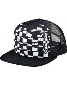 Seven Checkmate Snapback Hat Black