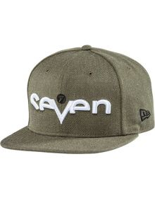 Seven Brand Youth Snapback Hat Heather Army