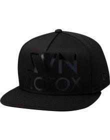 Seven Large Hat Black