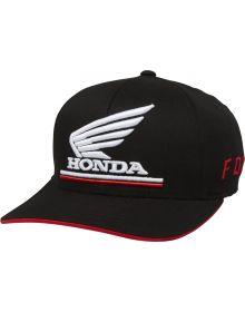 Fox Racing Honda Fanwear Youth Flexfit OS Hat Black