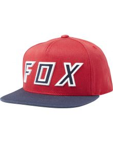Fox Racing Posessed Snap Youth Hat Cardinal