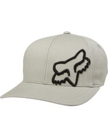 Fox Racing Flex 45 FlexFit Youth Hat Steel Gray
