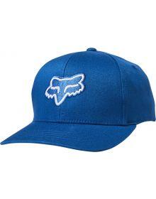 Fox Racing Legacy Youth Flexfit Hat Royal Blue