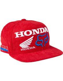 Fox Racing Honda HRC Youth Cap Flame Red