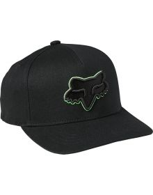 Fox Racing Epicycle 110 Youth Cap Black/Green