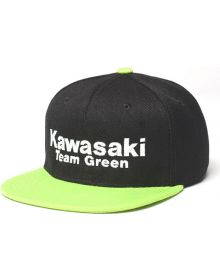 Factory Effex Kawasaki Team Green Snapback Youth Hat Black/Green