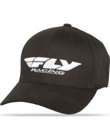 Fly Racing Podium Youth Hat Black