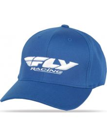Fly Racing Podium Youth Hat Blue