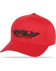 Fly Racing Podium Youth Hat Red