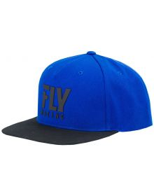 Fly Racing Logo Youth Hat Blue