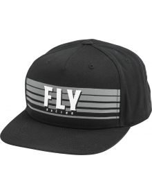 Fly Racing Kinetic Youth Hat Black