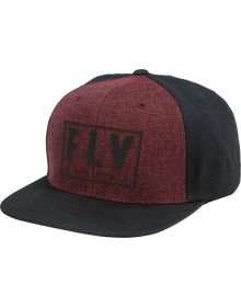 Fly Racing Gasket Youth Hat Black/Red