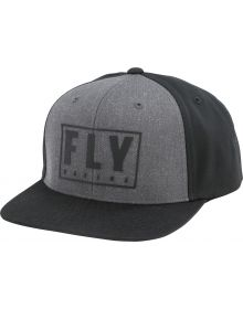 Fly Racing Gasket Youth Hat Black/Grey