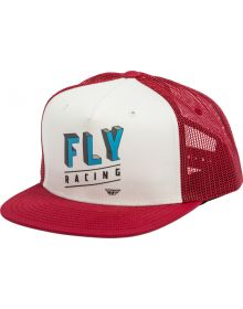 Fly Racing Dimensions Youth Hat Red