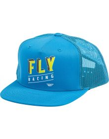 Fly Racing Dimensions Youth Hat Blue