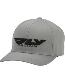 Fly Racing Podium Youth Hat Grey