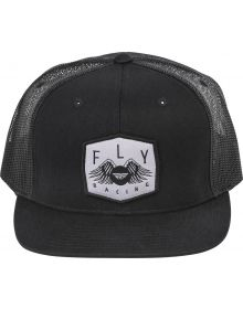 Fly Racing Freedom Snapback Youth Hat Black