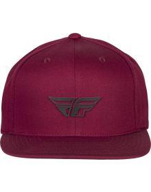 Fly Racing Weekender Snapback Youth Hat Red/Black