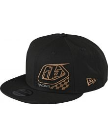 Troy Lee Designs Precision 2.0 Checkers Youth Snapback Hat Black
